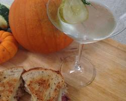 The dilly martini – perfect with a Reuben sandwich!