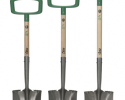 These shovels from Hers come in three different sizes.